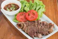 牛肉烤了里脊肉 免版税库存图片