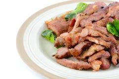 牛肉烤了 免版税库存图片