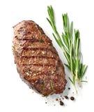 牛肉烤牛排 库存照片
