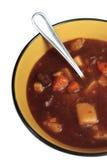 牛肉碗炖煮的食物 图库摄影