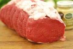 牛肉联接 免版税库存图片