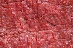 牛肉肉原始的无缝的纹理 免版税库存照片