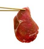 牛肉膳食sukiyaki 库存图片