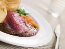 牛肉英国烤顶端 免版税库存照片
