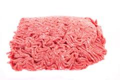 牛肉陆运查出的白色 免版税库存照片