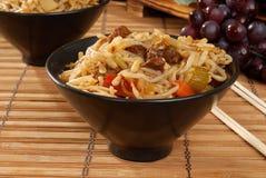 牛肉食物mein 库存图片