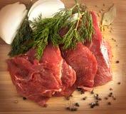 牛肉鲜肉 图库摄影