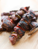 牛肉kebab 库存图片
