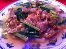 牛肉Kway Teow 图库摄影