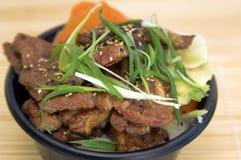 牛肉misoyaki 库存图片