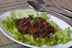 牛肉rendang 免版税图库摄影