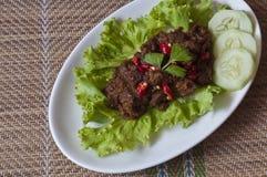 牛肉rendang 图库摄影