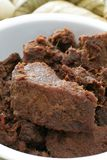 牛肉rendang 免版税库存图片