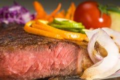 牛肉ribeye牛排 库存图片