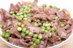牛肉stired 免版税图库摄影