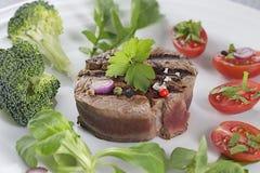 牛肉tournedos 免版税库存照片