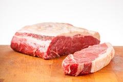 牛腰肉排和联接 免版税图库摄影