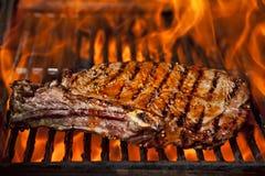 牛腰肉排顶层 库存照片