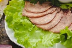 牛舌肉 免版税图库摄影