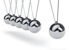 牛顿的摇篮 免版税图库摄影