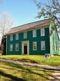 牛顿, MA :1734 Durant肯里克议院 库存图片