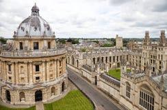 牛津在多云天 免版税库存图片