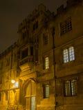 牛津大学 免版税库存照片