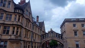 牛津大学 免版税库存图片