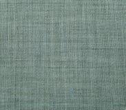 牛仔布亚麻帆布织品抽象纹理  免版税库存照片