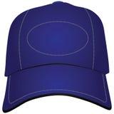 牛仔布棒球帽 向量例证