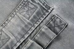 牛仔布 免版税图库摄影