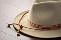 牛仔帽马乘驾使用 免版税图库摄影