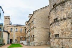 牛津监狱。英国 库存照片