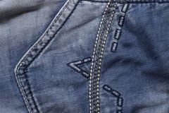 牛仔裤口袋 库存图片