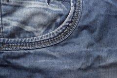 牛仔裤口袋 图库摄影