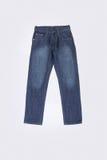 牛仔裤或蓝色牛仔裤在背景 免版税库存图片