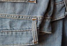 牛仔裤牛仔布纹理 库存图片