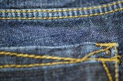 牛仔裤纹理 免版税图库摄影