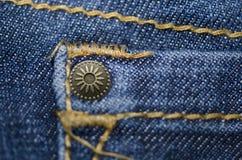 牛仔裤纹理 免版税库存照片