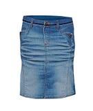 牛仔裤裙子 库存图片