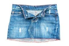 牛仔裤裙子 库存照片