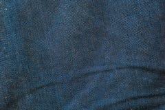 牛仔裤织品纹理背景 免版税库存照片