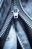 牛仔裤细节关闭  免版税库存图片