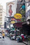牛仔酒吧在曼谷 免版税图库摄影