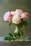 牡丹花束  库存图片