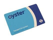 牡蛎卡片 免版税图库摄影