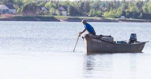 牡蛎渔 库存图片