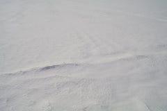从牢固的雪的背景在干草原 18 免版税图库摄影