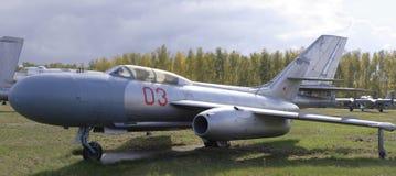 牦牛25 Interceptor (1952) 最大 速度, 1090 km/h 图库摄影