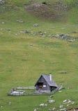 牧人的小屋 库存图片